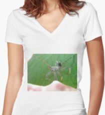The Assasin Insect Women s Fitted V-Neck T-Shirt 467015202f6fe