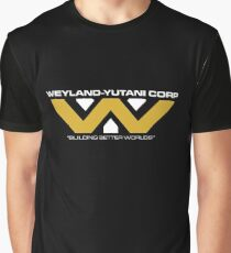 The Weyland-Yutani Corporation Logo Graphic T-Shirt