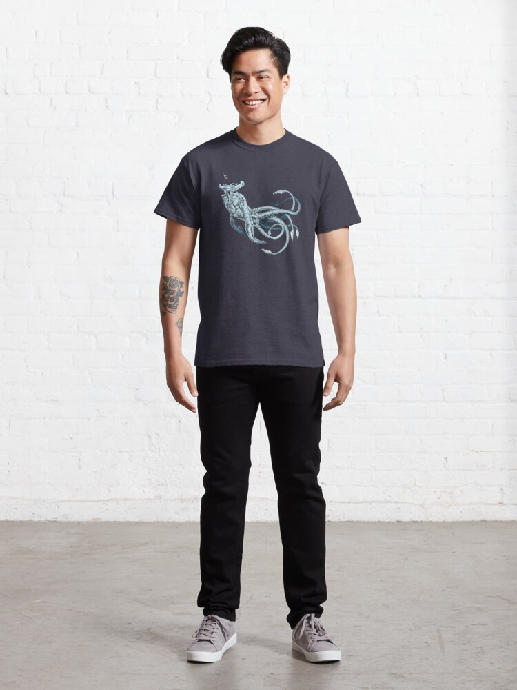 Alternate view of Sea Emperor Transparent Classic T-Shirt