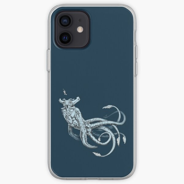 Empereur de mer transparent Coque souple iPhone
