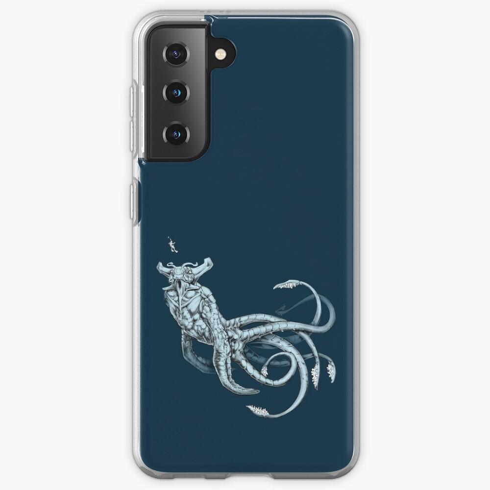 Sea Emperor Transparent Samsung Galaxy Phone Case