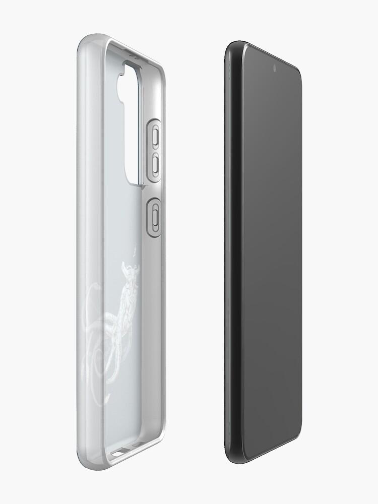 Alternate view of Sea Emperor Transparent Samsung Galaxy Phone Case