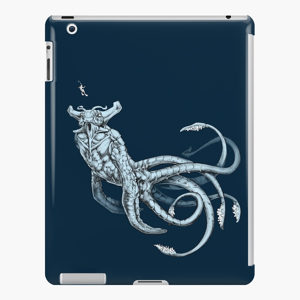 Sea Emperor Transparente Funda y vinilo para iPad