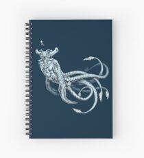 Sea Emperor Transparent Spiral Notebook