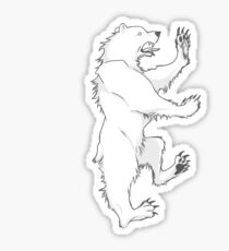 House Mormont Bear Graphic Drawing (Game of Thrones) Sticker
