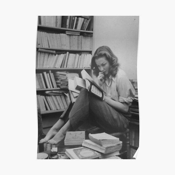 Sylvia Plath Poster