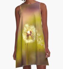 Dandelion in the wind A-Line Dress