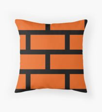 Brick Smash Throw Pillow