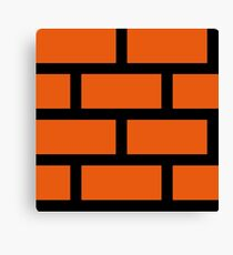 Brick Smash Canvas Print