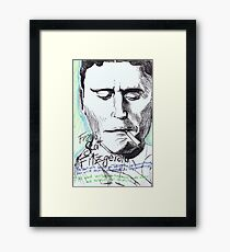 Fitzgerald Framed Print