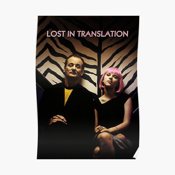 Verloren im Übersetzungsfilm Poster