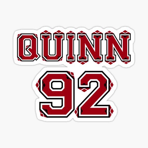 """Quinn """"92"""" Sticker"""