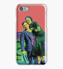 Bonnie and Clyde Pop Art iPhone Case/Skin