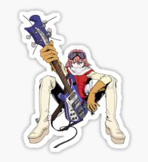 FLCL fooly cooly anime Haruko Haruhara Sticker