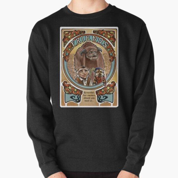 Labyrinth Art Nouveau Tribute Pullover Sweatshirt