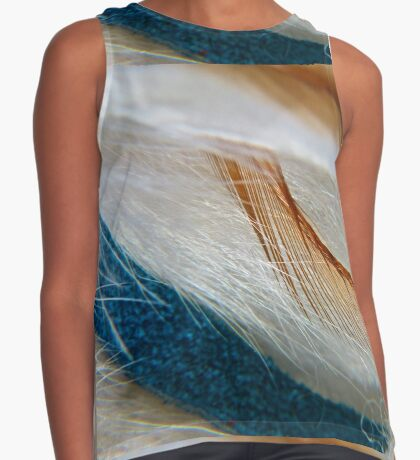 Feathers Contrast Tank