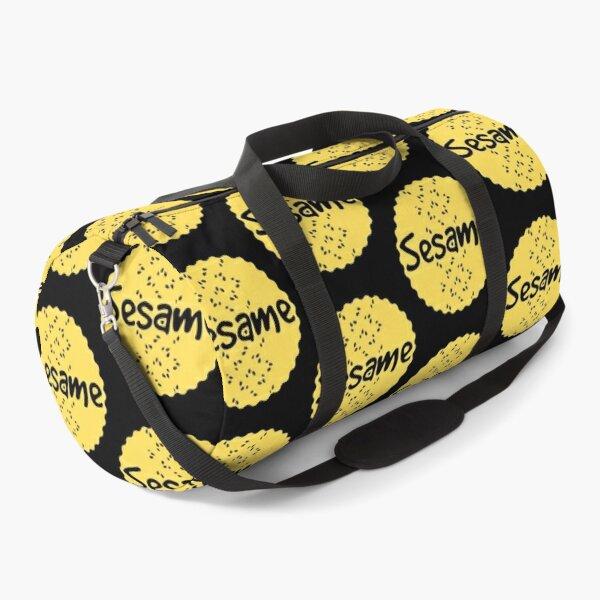 Sesame  - Yellow Label  Duffle Bag