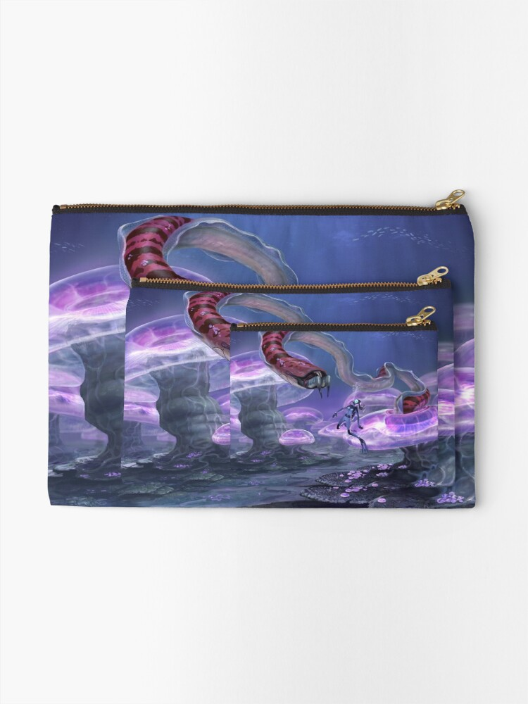 Alternate view of Close Encounter Zipper Pouch