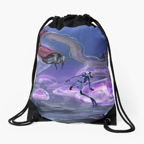 Close Encounter Drawstring Bag