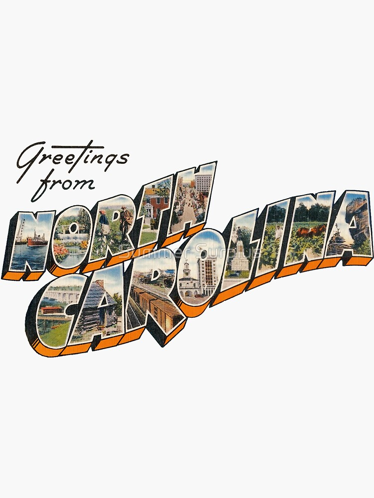 """Greetings from North Carolina"" by patrimonic"