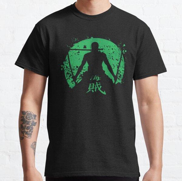 une pièce luffy Roronoa Zoro T-shirt classique