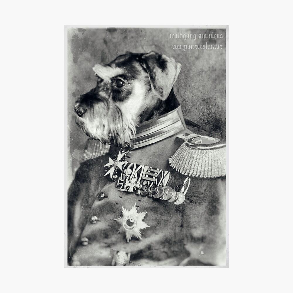 Wolfgang Amadeus von Panzerschnauz Photographic Print