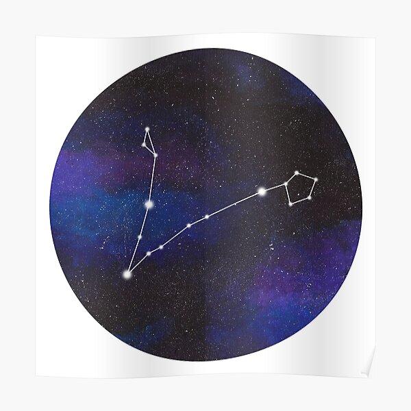 Pisces - galaxy star constellation Poster