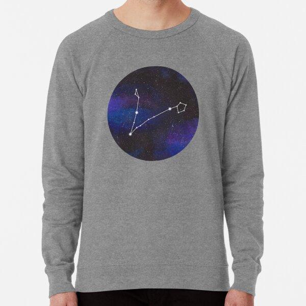 Pisces - galaxy star constellation Lightweight Sweatshirt