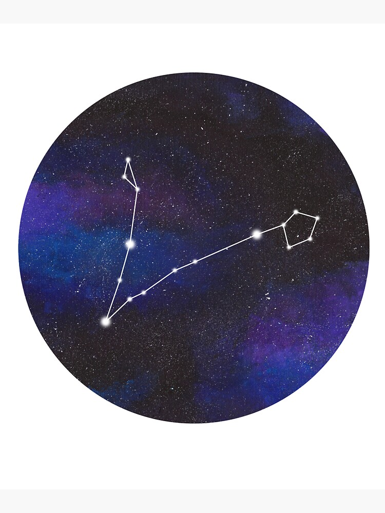 Pisces - galaxy star constellation by GillianAdams