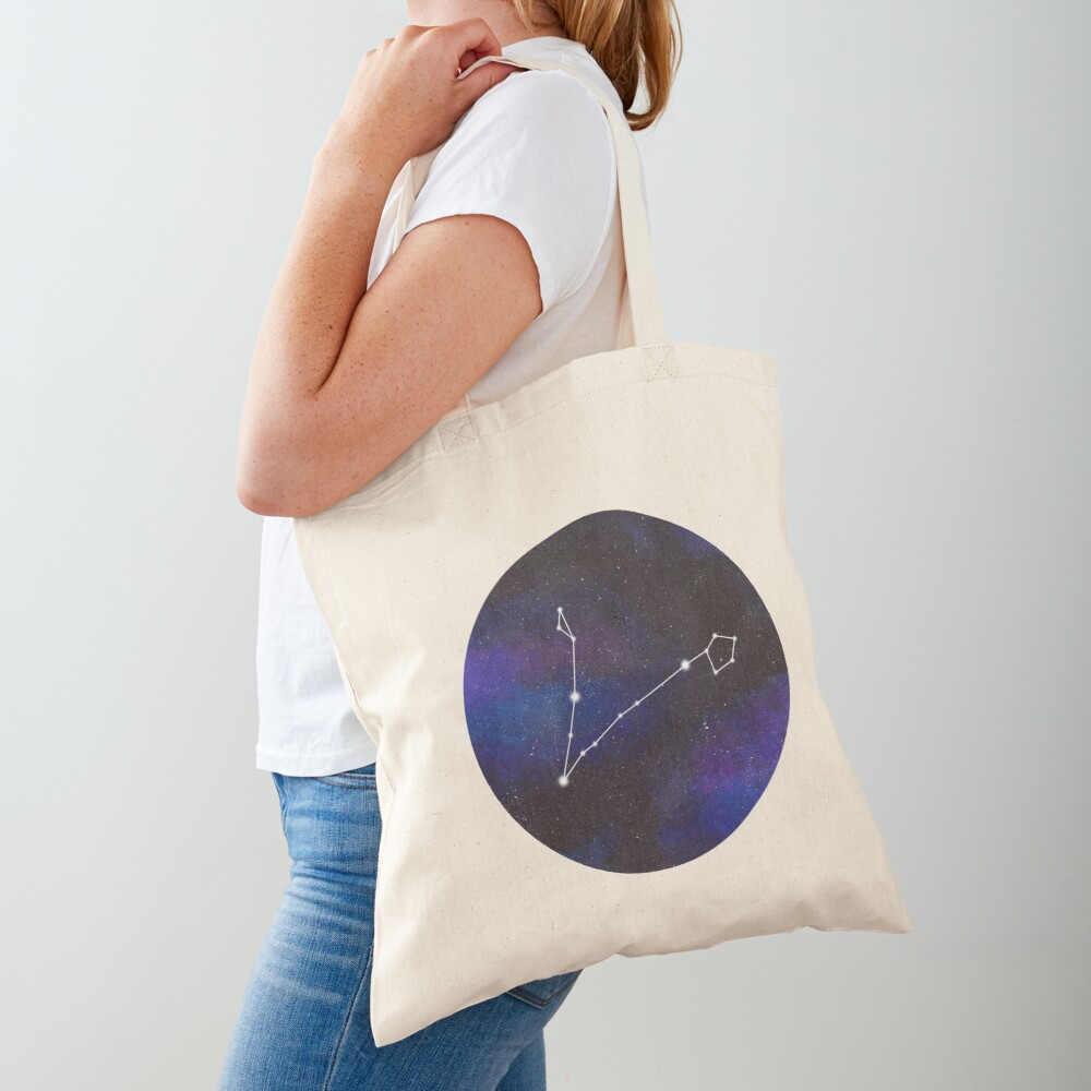 Pisces - galaxy star constellation Tote Bag