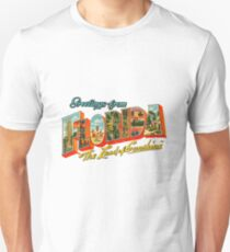 Greetings from Florida, The Land of Sunshine T-Shirt