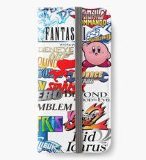 Retro Nintendo Titles  iPhone Wallet/Case/Skin
