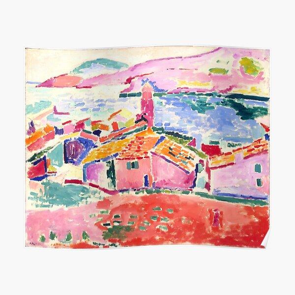 Les toits de Collioure by Henri Matisse, 1905 Poster