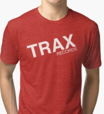 trax records t shirt Tri-blend T-Shirt