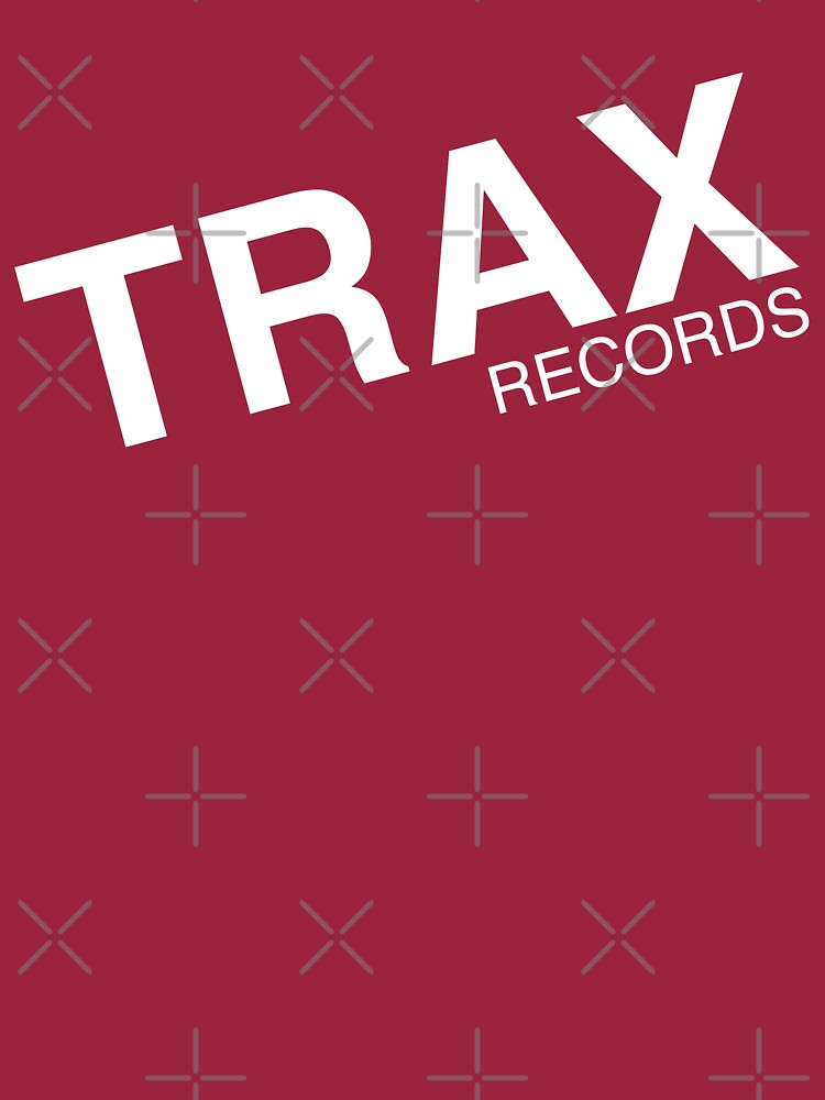trax records t shirt by RudieSeventyOne