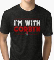 I'm With Corbyn Tri-blend T-Shirt