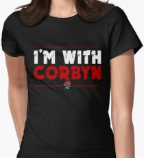 I'm With Corbyn Women's Fitted T-Shirt