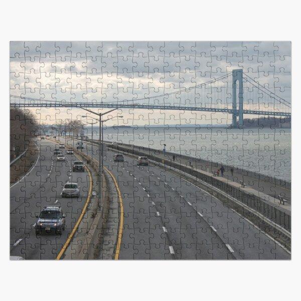 Verrazzano-Narrows Bridge: Suspension Bridge Jigsaw Puzzle