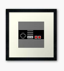 Retro Controller Bar Framed Print