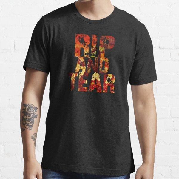 Doom - Rip And Tear Essential T-Shirt