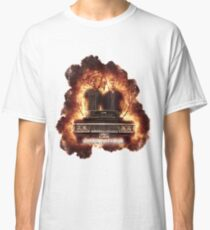 Supernatural Explosion 3 Classic T-Shirt