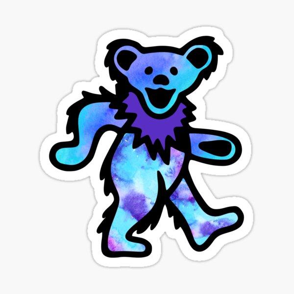 Grateful Classic Rock's Not Dead Bear Dancing Sticker