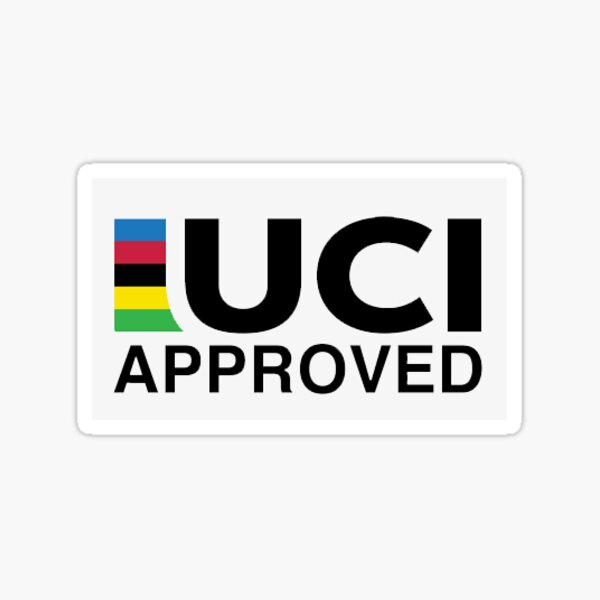 Homologué UCI - Petit Sticker