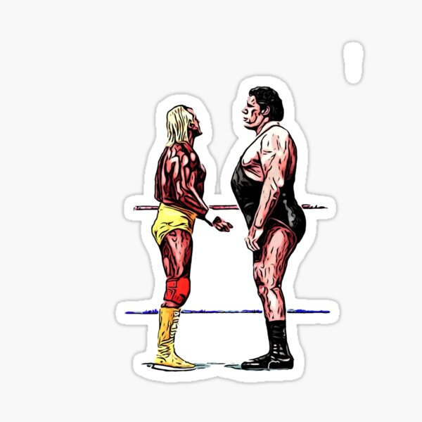 Hogan Vs. Andre Sticker