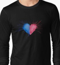 Watercolor Heart  Long Sleeve T-Shirt