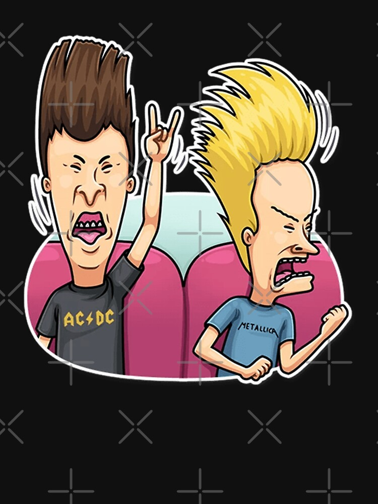 Beavis and Butthead Enjoying their time by Saladin-Design
