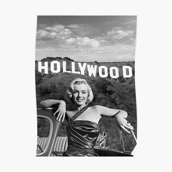 Maryline Monroe: Hollywood Poster