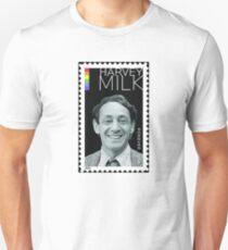 Harvey Milk Postage Stamp Unisex T-Shirt