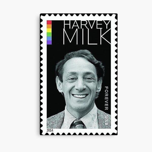 Harvey Milk Postage Stamp Canvas Print