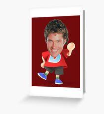 David Villager Greeting Card